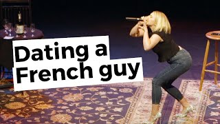 First time dating a French guy @Elena Gabrielle  👨🏼🎨🇫🇷🥜 @Story Party Tour - True Dating Stories