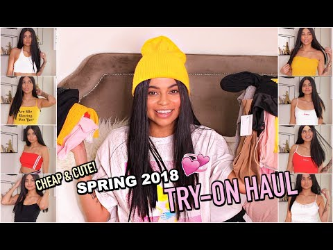LOOK CUTE ON A BUDGET! TRY-ON HAUL