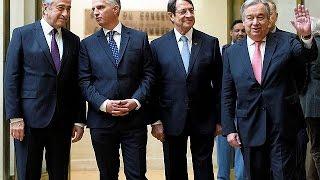 Garantör devletler Kıbrıs konferansından umutlu ayrıldı