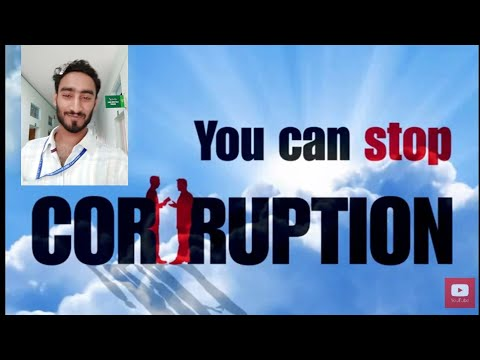 How to Stop Corruption Speech by Asad Qazi