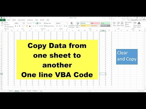 Clear Contents from one sheet and Paste to another using vba