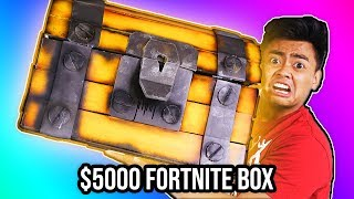 Download UNBOXING a $5000 DIAMOND Fortnite Mystery Box! Video