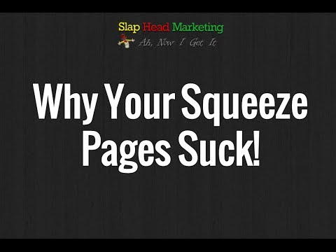 Discrediting The Gurus Approach To Creating Squeeze Pages