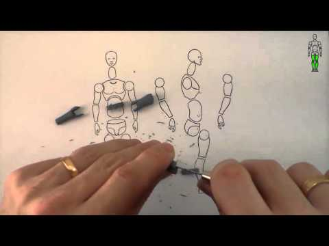 Making a basic polymer clay action figure - Part 1