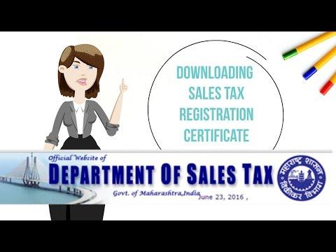 VAT - Digitally signed Certificate Download