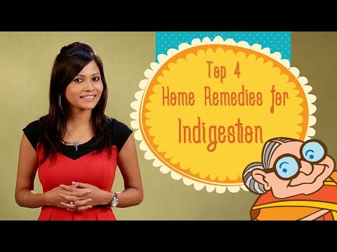 Heartburn & Indigestion - Top 4 Ayurvedic Home Remedies to Cure Acid Re-flux, Stomach Bloating