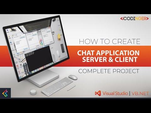 VB.NET - Chat Application | Server & Client (Complete Project)