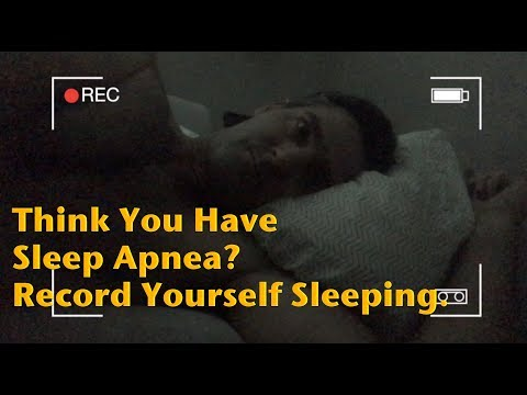 Think You Have Sleep Apnea? How to Record Yourself Sleeping for Free.