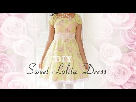 DIY: How to sew a Sweet Lolita Dress ❤️ (without a pattern)