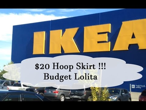 $20 Ikea Hoopskirt | Budget Lolita