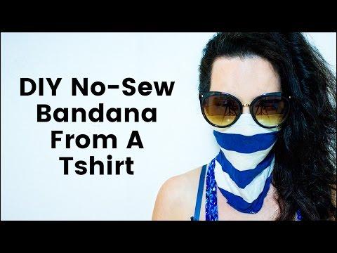 DIY No Sew Bandana