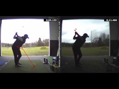 FIXING HUGE ACROSS THE LINE BACKSWING- Rick Shiels Quest Golf Academy