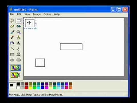 Creating Network Diagrams using Paint