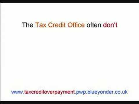 Help With Tax Credit Overpayment