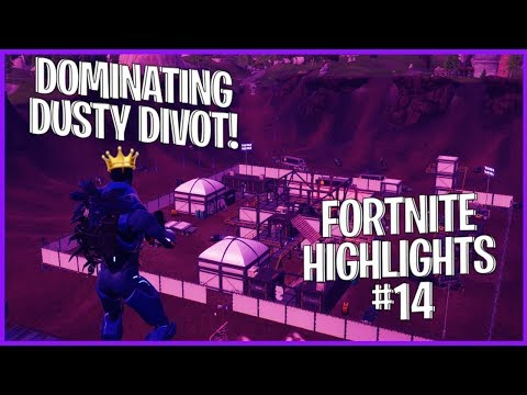 THE KING OF DUSTY - FORTNITE BATTLE ROYALE HIGHLIGHTS #14