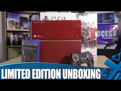 Metal Gear Solid V: The Phantom Pain - Limited Edition PS4 Unboxing