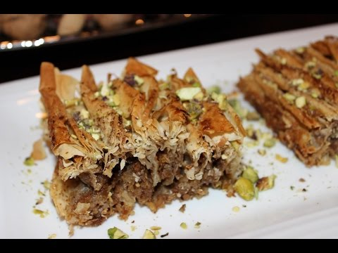 How to Make Baklava with a Twist