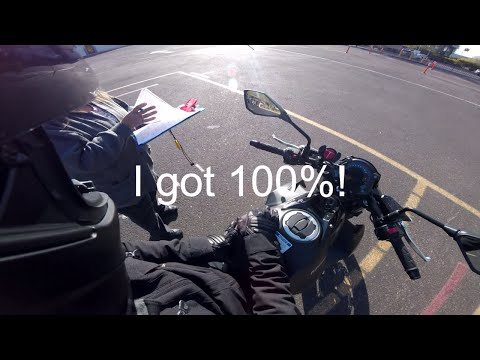 Arizona Motorcycle Skills Test - Kawasaki Z650 - 2018