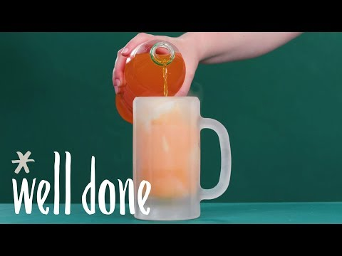 How To Make A Creamsicle Float | Recipe | Well Done