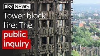 Tower block fire: The public inquiry