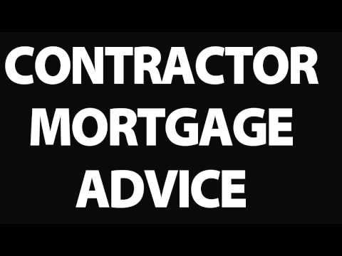 Contractor Mortgage : Contractor mortgages advice