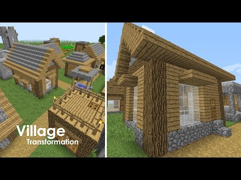 Minecraft Village Upgrade - Library