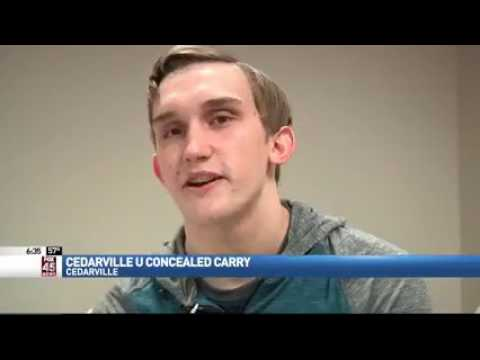 Cedarville University Takes Lead on Conceal Carry at Ohio universities