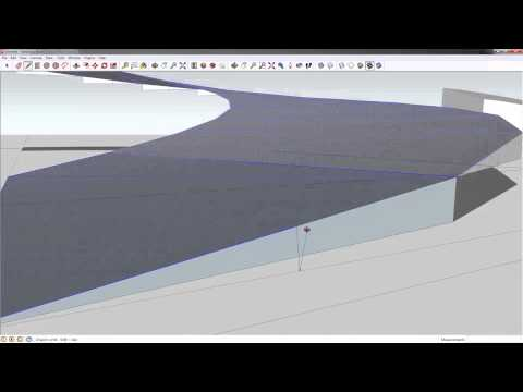 mleeARC TUTblog - Modeling a Curved Ramp in SketchUp