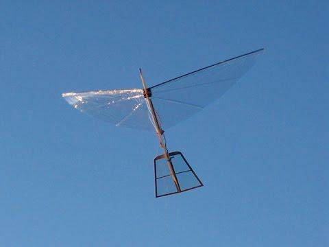 New Type Ornithopter - S1 Robotic Bird Flies!
