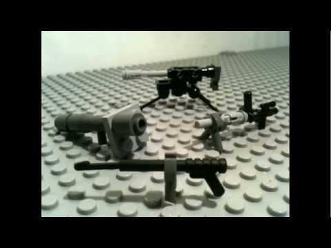 How To Make Lego WW2 guns