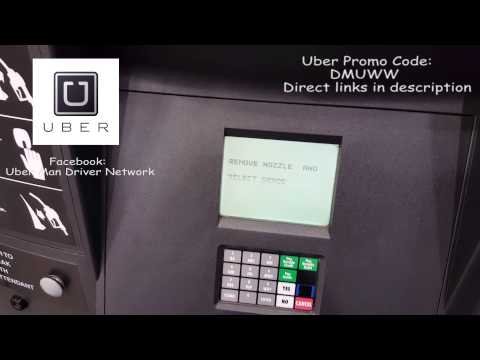 Uber Fuel MasterCard - Working - How to Use it