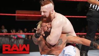 Enzo Amore & Big Cass vs. Cesaro & Sheamus - No.1 Contenders