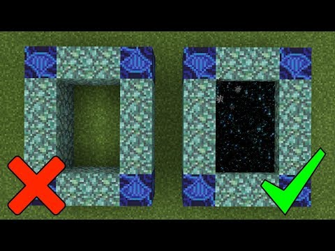 How To Make a Portal to the Hydra Dragon Dimension in Minecraft (Pocket Edition)