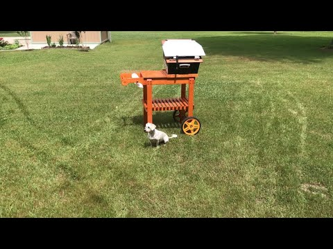 One more mod to the solar oven cart
