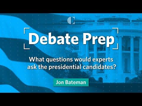 Debate Prep 2020: Jon Bateman
