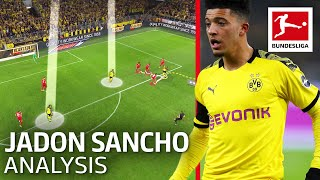Jadon Sancho Analysis - The Sancho Effect