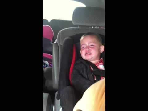 Twin baby doesn't accept brothers apology Funny!