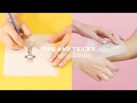 inkbox Freehand Tattoos | Tips & Tricks - Transferring