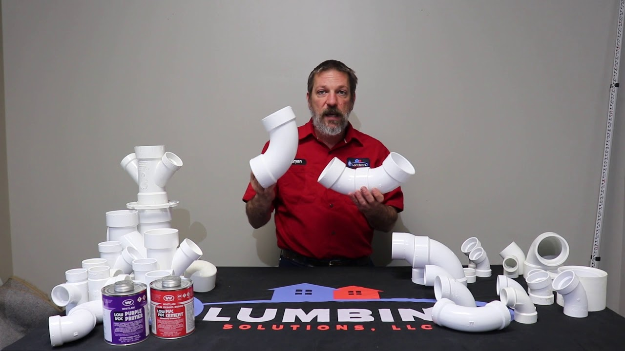 Plumbing Pipe and Fittings, DWV