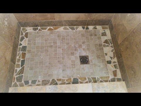 Installing a Broken tile mosaic