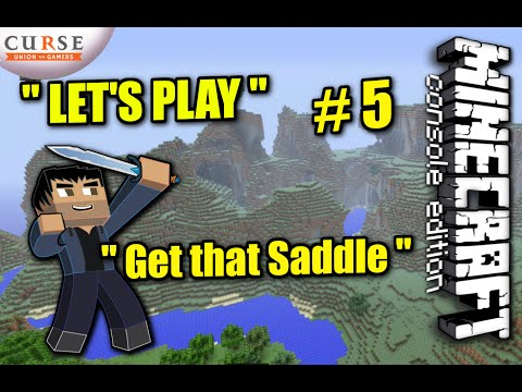 Minecraft PS4 - GET THAT SADDLE ! Survival