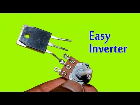Very Easy 12v to 220v Inverter