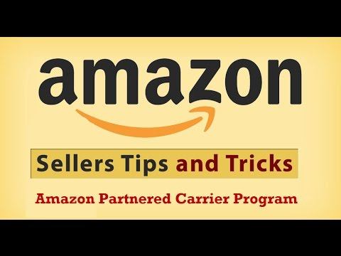 Amazon FBA Partnered Carrier Program
