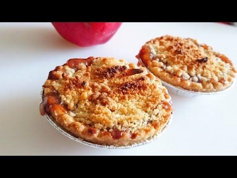 [Tony's Creation]Mini Apple crumble tarts