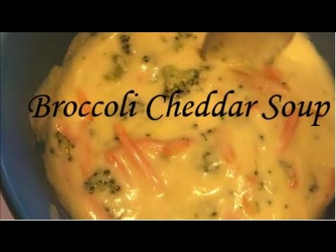Cook With Me! | Broccoli Cheddar Soup Recipe