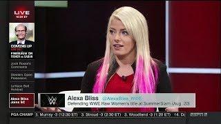 Alexa Bliss Joins SC | Aug 11, 2017