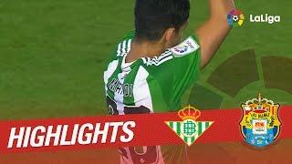 Resumen de Real Betis vs UD Las Palmas (2-0)