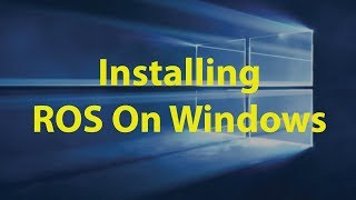 Mastering ROS Tutorials 1 0: Getting started with ROS (Using