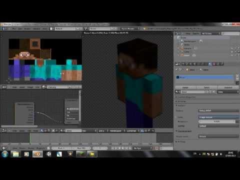 Blender Tutorial - Minecraft Character