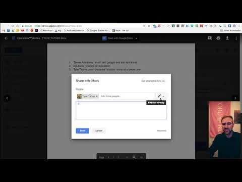 Sharing Non Google Files // Google Drive
